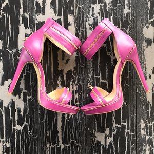 Shoes - Scene Zipper Heels
